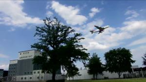 Gefängnis mit Flugzeug